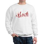 Mock, Vintage Red Sweatshirt