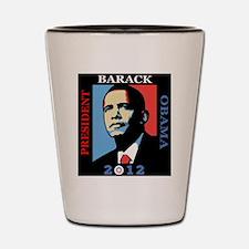 Beautiful Obama 2012 Shot Glass