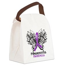 Pancreatitis Awareness Canvas Lunch Bag