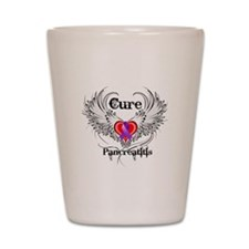 Cure Pancreatitis Shot Glass