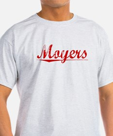 Moyers, Vintage Red T-Shirt