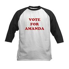 VOTE FOR AMANDA  Tee