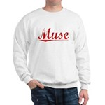 Muse, Vintage Red Sweatshirt