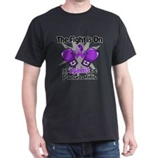 Fight is On Pancreatitis T-Shirt