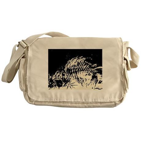 Dem Bones Messenger Bag