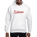 Neiman, Vintage Red Hooded Sweatshirt