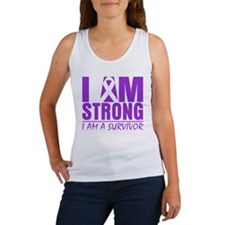I am Strong Pancreatitis Women's Tank Top