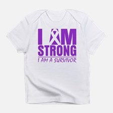 I am Strong Pancreatitis Infant T-Shirt