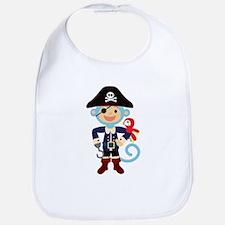 Captain Monkie Hooks Bib