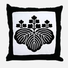 5-3-paulownia Throw Pillow