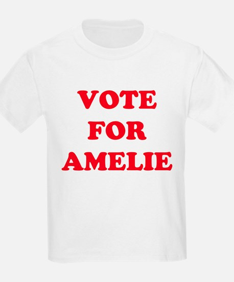 VOTE FOR AMELIE  Kids T-Shirt