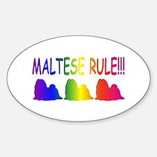 Maltese Decal