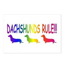 Dachshund Postcards (Package of 8)