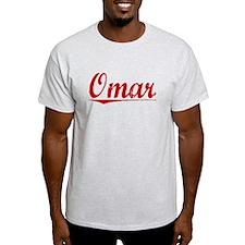 Omar, Vintage Red T-Shirt