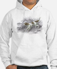 Setter Dog (Front) Hoodie