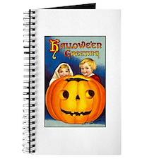 Victorian Halloween Children Journal