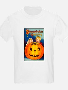 Victorian Halloween Children Kids T-Shirt