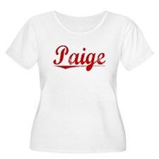 Paige, Vintage Red T-Shirt