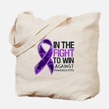 In The Fight Pancreatitis Tote Bag