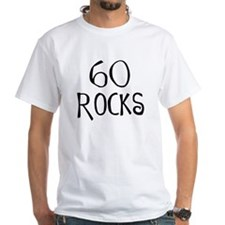 60th birthday saying, 60 rocks! Shirt