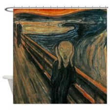 The Scream by Munch Shower Curtain