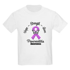 Hope Strength Pancreatitis T-Shirt