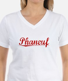 Phaneuf, Vintage Red Shirt