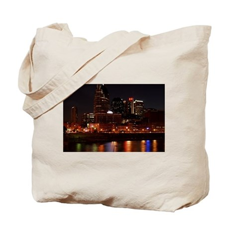 Nashville and the Cumberland River Tote Bag