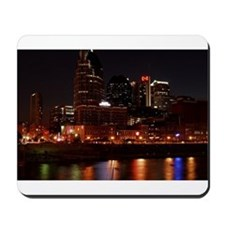 Nashville and the Cumberland River Mousepad