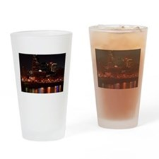 Nashville and the Cumberland River Drinking Glass