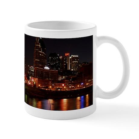 Nashville and the Cumberland River Mug
