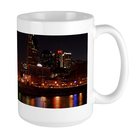 Nashville and the Cumberland River Large Mug