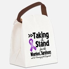 Taking a Stand Pancreatitis Canvas Lunch Bag
