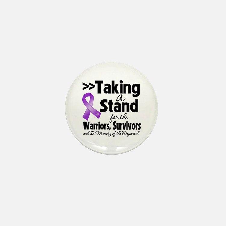 Taking a Stand Pancreatitis Mini Button
