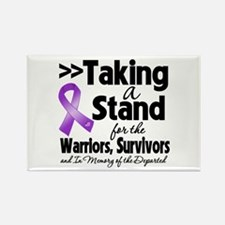 Taking a Stand Pancreatitis Rectangle Magnet