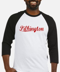 Pilkington, Vintage Red Baseball Jersey