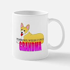Pembroke Welsh Corgi Grandma Mug