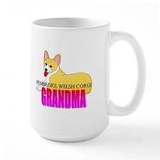 Pembroke Welsh Corgi Grandma Ceramic Mugs