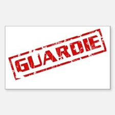 Guardie Rectangle Decal