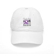 Faith Love Hope Pancreatitis Baseball Cap