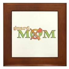Guard Mom Framed Tile