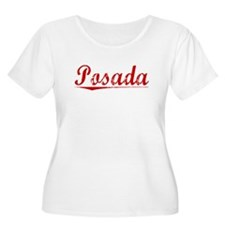 Posada, Vintage Red T-Shirt