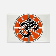 Hindu Peace Om Aum Rectangle Magnet