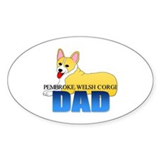 Pembroke Welsh Corgi Dad Decal