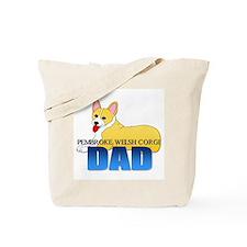 Pembroke Welsh Corgi Dad Tote Bag