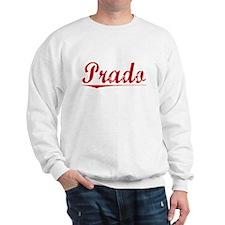 Prado, Vintage Red Sweatshirt
