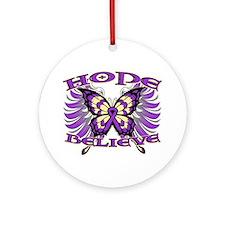 Hope Believe Pancreatitis Ornament (Round)