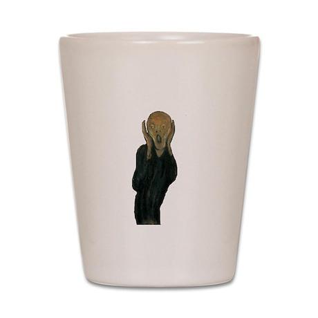 The Scream by Edvard Munch Shot Glass