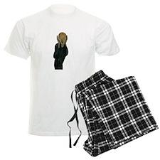 The Scream by Edvard Munch Pajamas