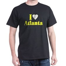 I Love Atlanta Black T-Shirt